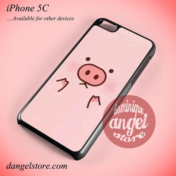 Gravity Falls Cute Waddles Phone case for iPhone 5C and another iPhone devices
