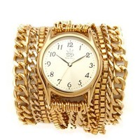 Sara Designs All Chain Wrap Watch | SHOPBOP