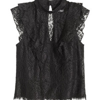 H&M Lace Blouse $39.99