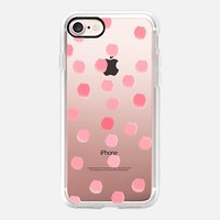 Rosie Dots - Transparent/Clear Background iPhone 7 Case by Lisa Argyropoulos | Casetify
