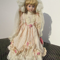 Hello Dolly Alanna Victorian Bride Porcelain Doll 199 Price and Company