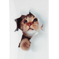 Cat Print iPhone 4 Case