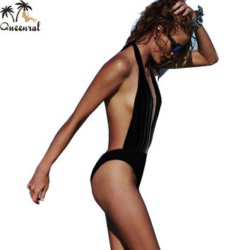 Women monokini swimsuit one piece