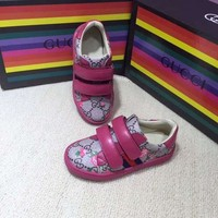 GUCCI Girls Boys Children Baby Toddler Kids Child Fashion Casual Sneakers Sport Shoes