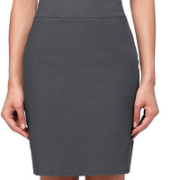 Skirts 2017 Women High Waist Elastic Grey Hips Wrapped Black Skirt Jupe Sexy Mini Laides Pencil Skirt