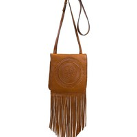 Patricia Nash Soft Veg Fringe Collection Granada Cross-Body Bag | Dillards