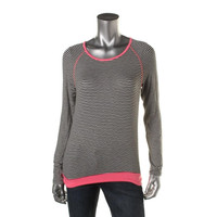 Kut From The Kloth Womens Jersey Striped Pullover Top