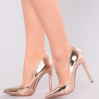 Ashanti Pump - Rose Gold