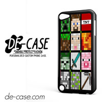 Pixel Minecraft DEAL-8756 Apple Phonecase Cover For Ipod Touch 5