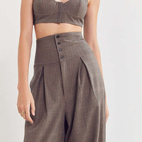 Silence + Noise Eloise Menswear Bustier Top | Urban Outfitters