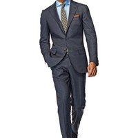 Suit Grey Plain La Spalla P3857i | Suitsupply Online Store