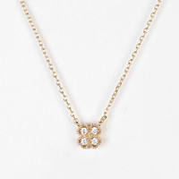 Little Bit Of Luck Charm Necklace - Urban Outfitters