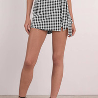 New Rules Front Tie Skort