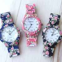 Roses Beauty Bracelet Watch