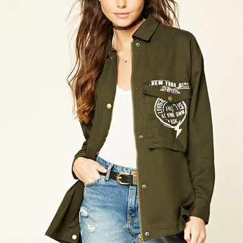 New York Girl Utility Jacket