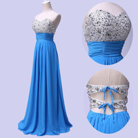 MERMAID Long Prom Dress Bridesmaid Formal Evening Gowns Wedding GRADUATION Dress