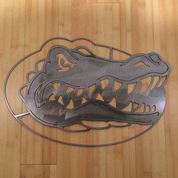 Florida Gators metal art