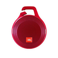 JBL Clip+ Splashproof Portable Bluetooth Speaker (Red)