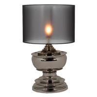 Black Nickel Table Lamp | Eichholtz Pagoda