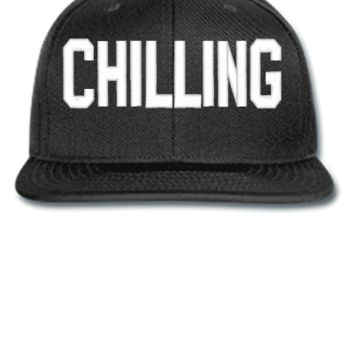 CHILLING EMBROIDERY HAT - Snapback Hat