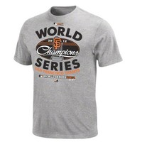MLB San Francisco Giants 2012 World Series Champs Official Locker Room Youth T-Shirt | deviazon.com