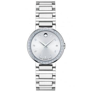 Ladies' Movado Concerto Mini Diamond Watch