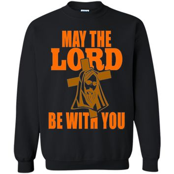 May The Lord Be With You Christian Gift T-Shirt Bible Quote shirt