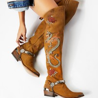 Free People Twin Cities Over the Knee Boot