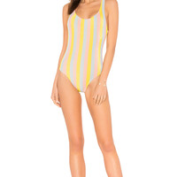 Solid & Striped The Anne One Piece in Maui Shimmer