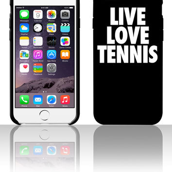 Live Love Tennis 5 5s 6 6plus phone cases