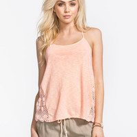 Roxy Follow Me Womens Tank Coral  In Sizes
