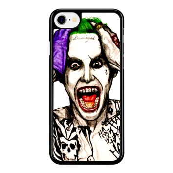 Joker Laugh From Suicide Squad  iPhone 8 Case