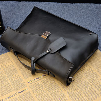 fashion retro casual leather bag