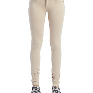 Moleton 5-Pocket Skinny Pants | Wet Seal