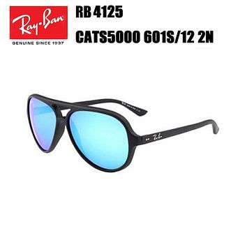 Ray Ban RB4125 Cats 5000 601S/17 2N Flash Lens Sunglasses
