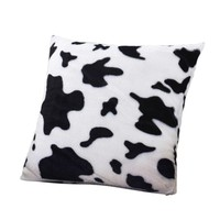 Cow Print Throw Pillow Cover