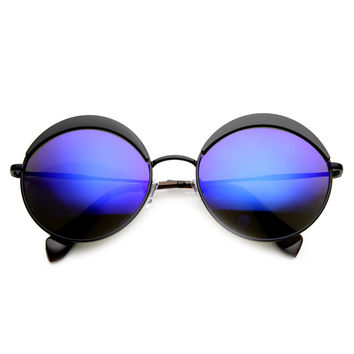 ON THE MOVE CIRCLE REVO SUNGLASSES