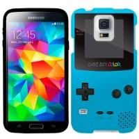 Samsung Galaxy S5 Old School Retro TREK™ Game Gear Blue Firm Case