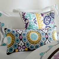 Suzani Pillow Cover, Cool