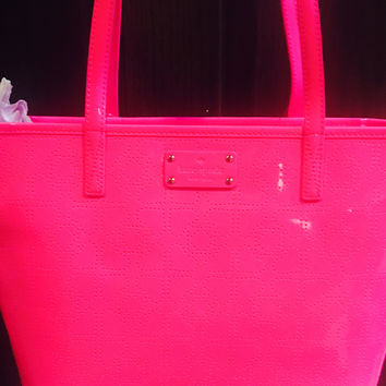 Kate Spade Cotton Candy Pink Handbag