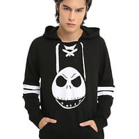 The Nightmare Before Christmas Jack Skellington Hockey Jersey Hoodie