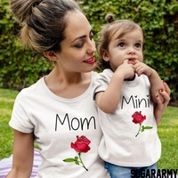 Mom Daughter matching shirts - MOM & MINI