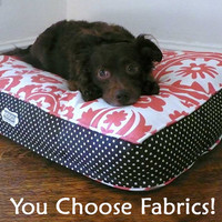 "24"" x 30"" Dog Bed with Insert (Flippable Cover)"