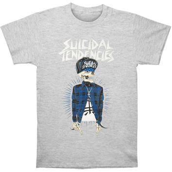 Suicidal Tendencies Men's  Suicidal Tendencies OG Vato T-shirt T-shirt Grey