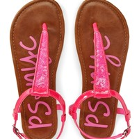 Kids' Sandal Sequin T-Strap Sandals