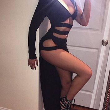 Bandage Sensual Cut Out Strappy Dress - 3 colors