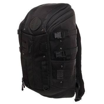 MPBP Deadpool Tactical Backpack  Black Tactical Backpack w. Deadpool Logo