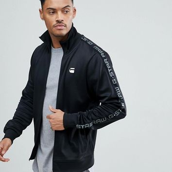 G-Star BeRAW Track Jacket with Sports Taping at asos.com