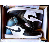 Nike Air Jordan Retro 1 Black white Contrast Sports shoes High Tops
