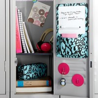 Gear-Up Pool Cheetah Locker Dry-Erase Pocket